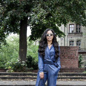 Look The Denim Jumpsuit von Chiara