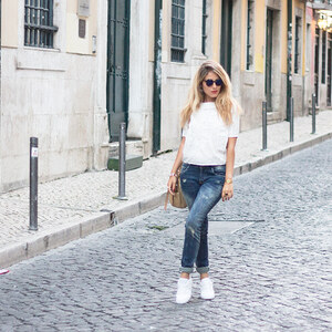 Look de White & Blue à pinketcetera €