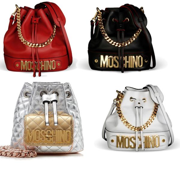 Moschino kabelky -pytlíky :)