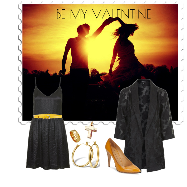 By my Valentine in Yellow