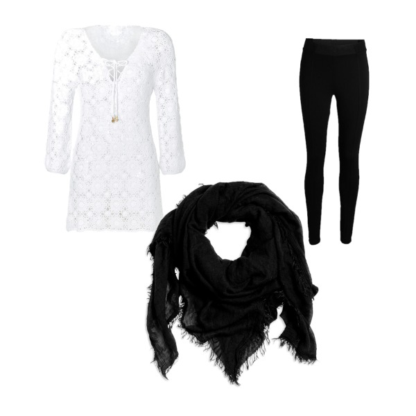 Black - White