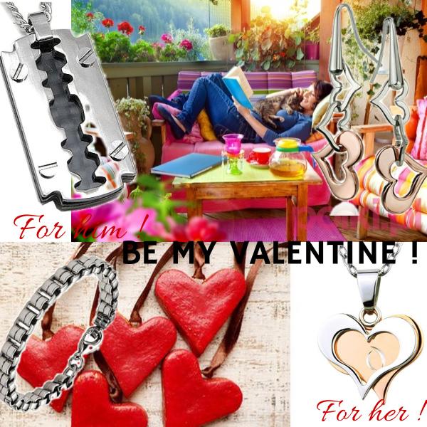 By my valentine !
