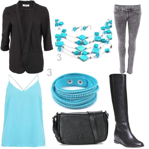 Modročerný styl