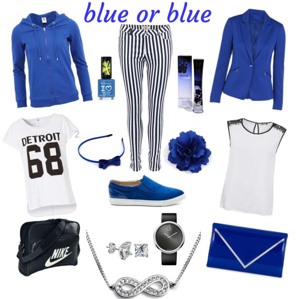 blue or blue
