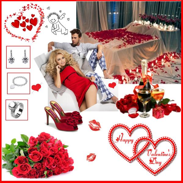 Valentýn v posteli...