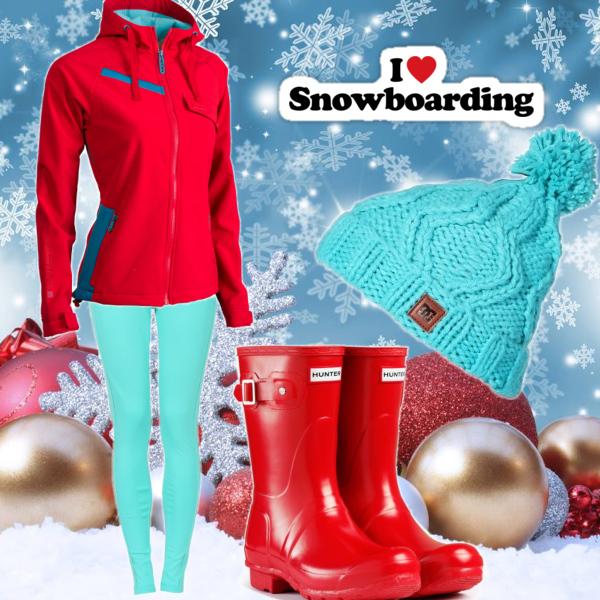 i love snowbording