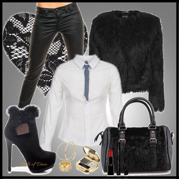 Sexy i elegantní černá