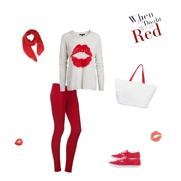 Red xoxo
