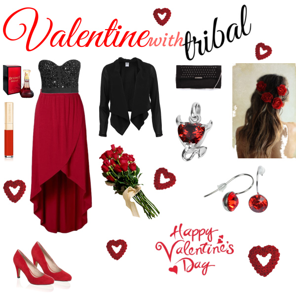 valentine with tribal