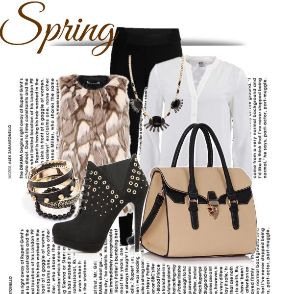 hnědé jaro