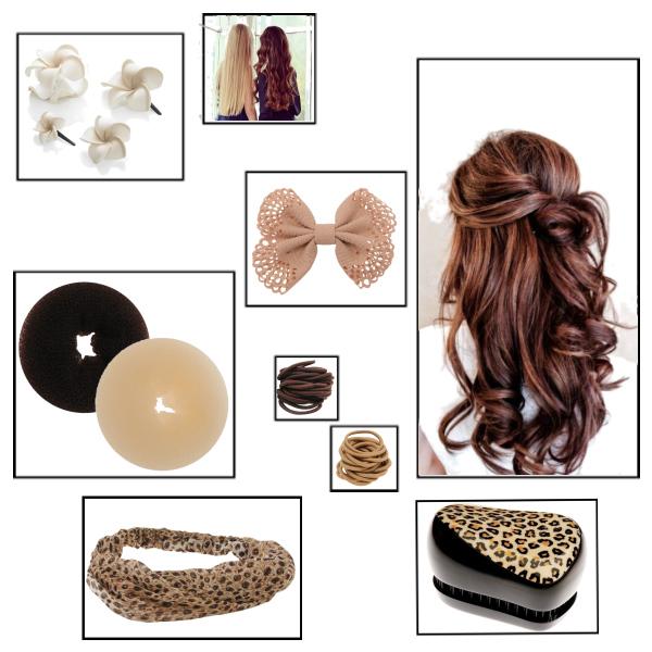 Vlasové ozdoby a účesy :3
