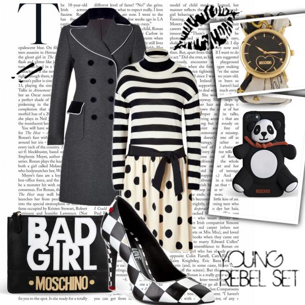 MOSCHINO Black and White