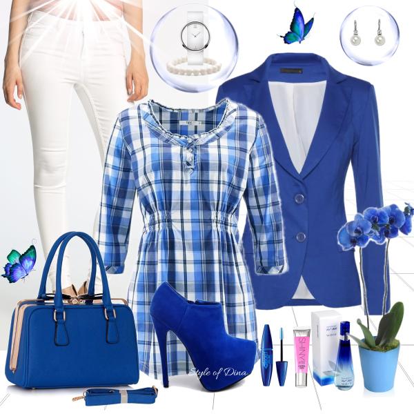 Milujeme modrou i na jaře