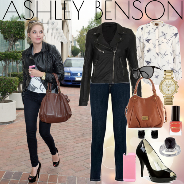 Outfit by Ashley Benson