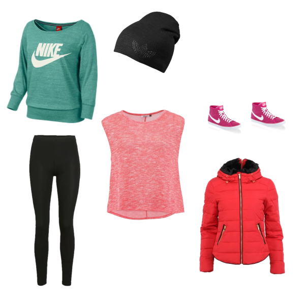 Módní sportovní oblečení