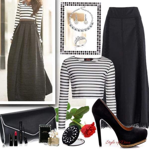 Kouzlo maxi sukně