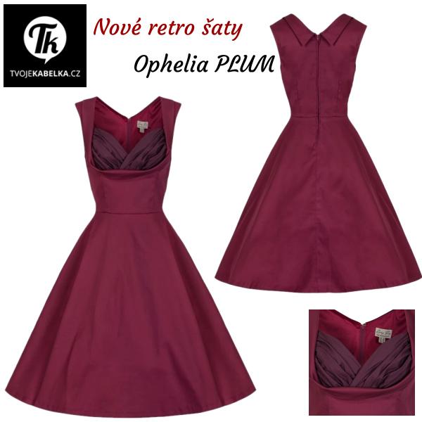 nové retro šaty