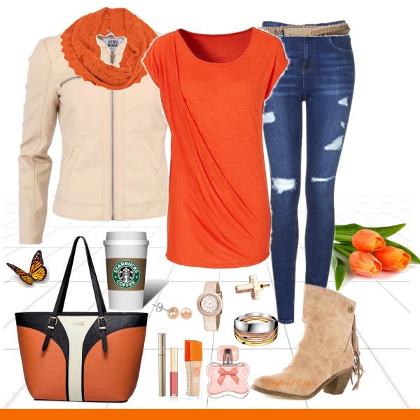 Oranžová - posel jara