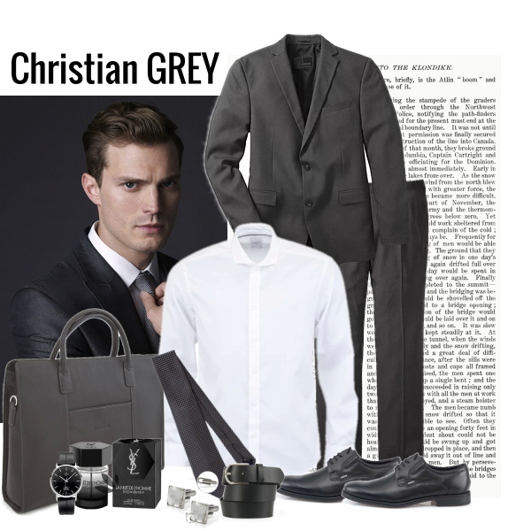 Christian Grey Outfit