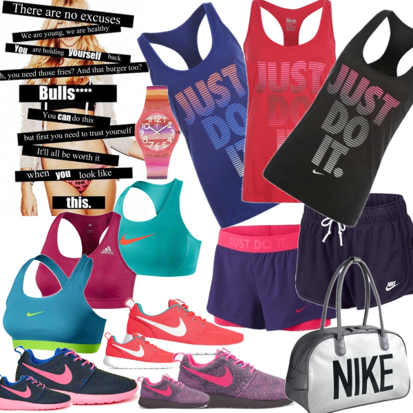 Nike in colours