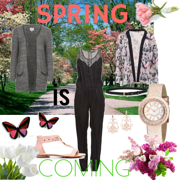 Spring is commind