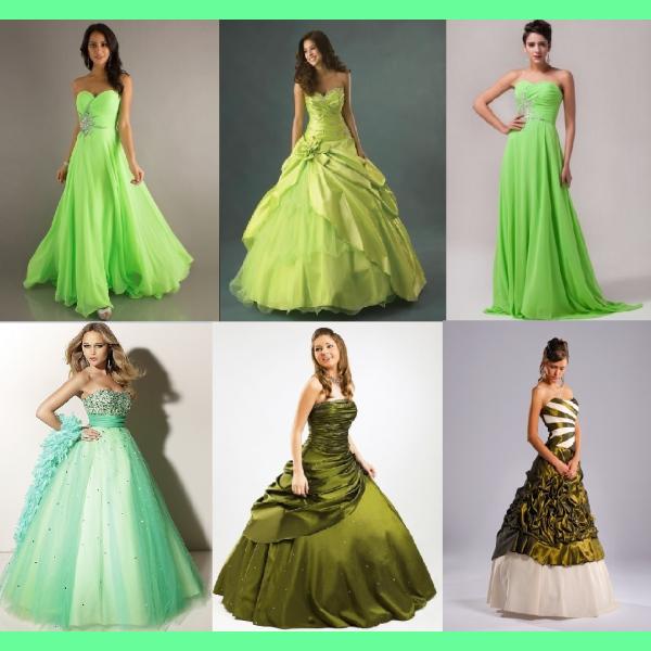 Zelené plesovky