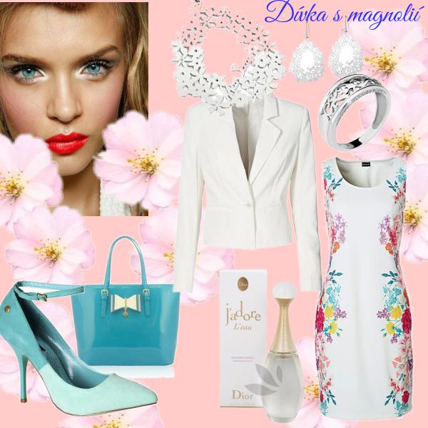Dívka s magnolií