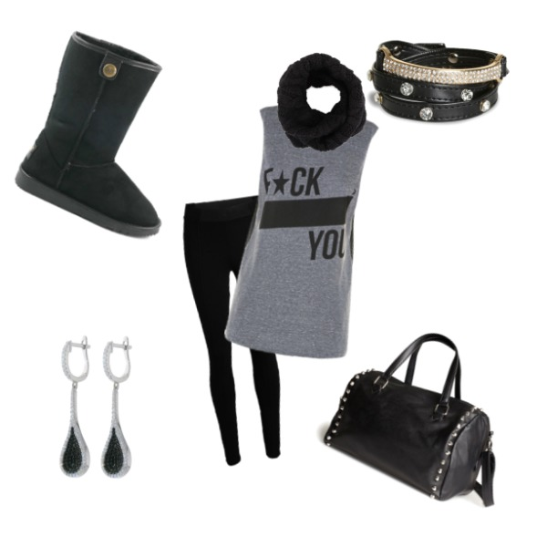 Black and grey :D♥