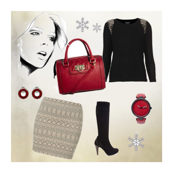 Winter in Red