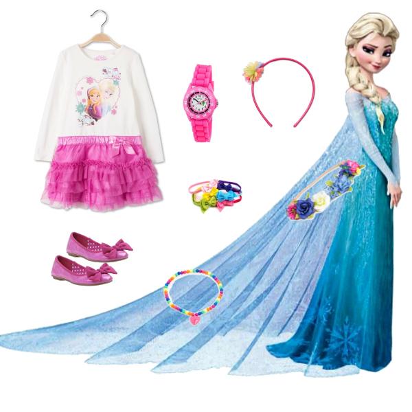 outfit pro malé princezny:))