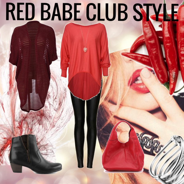 RED BABE CLUB STYLE