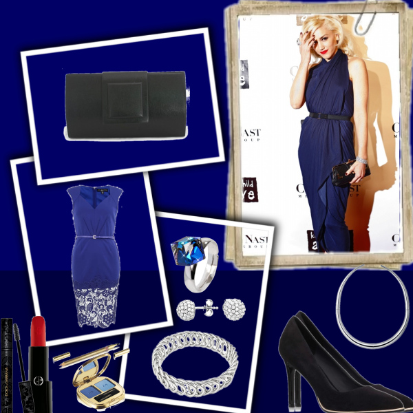Dark blue style