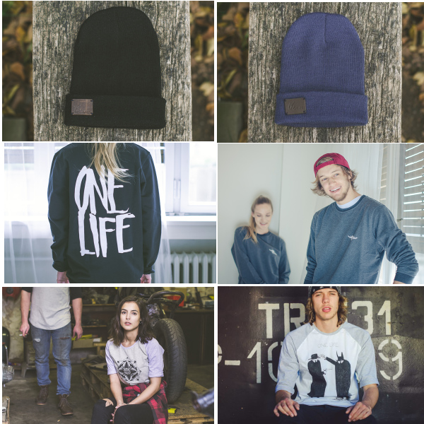 OneLife clothing spring 2015