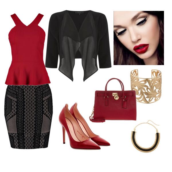 black  'n red