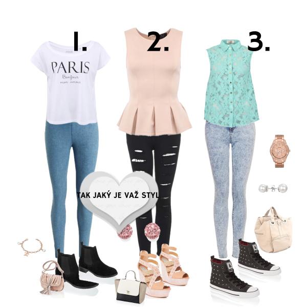3 styly oblekaní