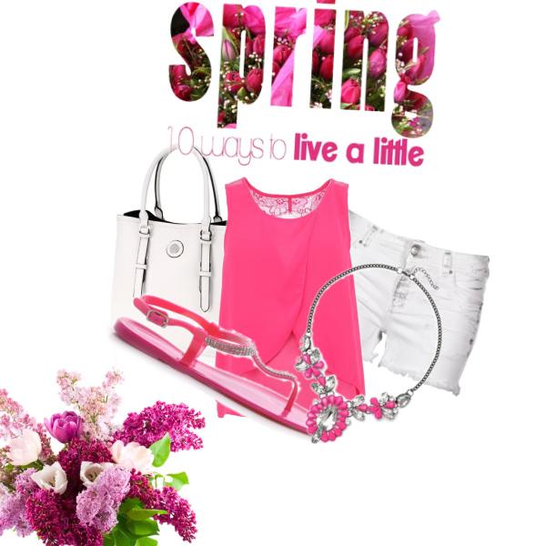 Jaro v růžovém