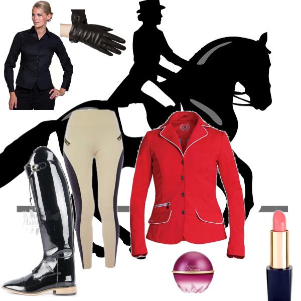 jezdecke elegantni outfit