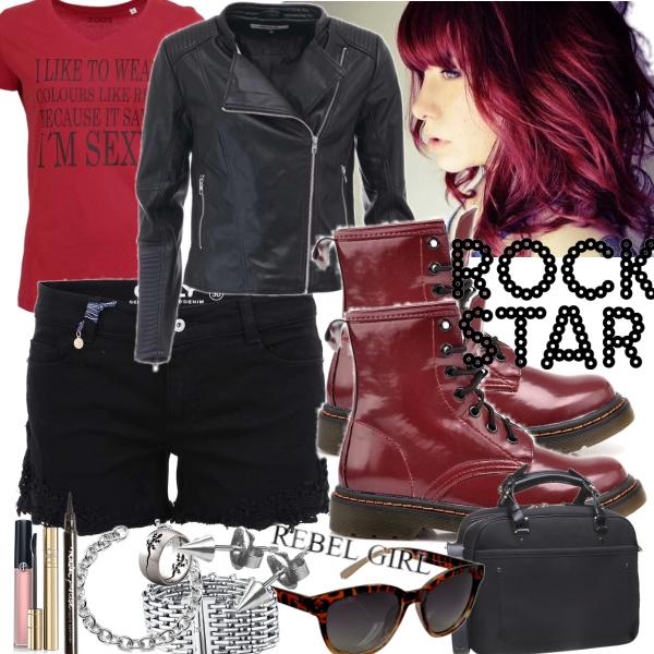 rebel rock girl
