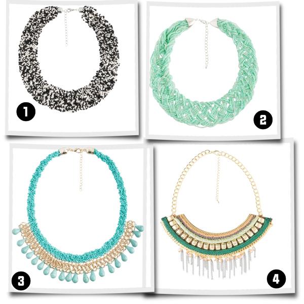 Wunderschöne Halsketten