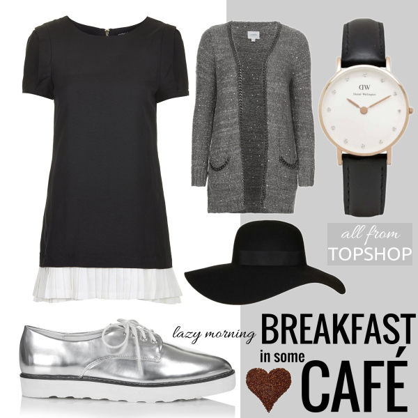 lazy morning BREAKFAST IN SOME CAFÉ w/TOPSHOP