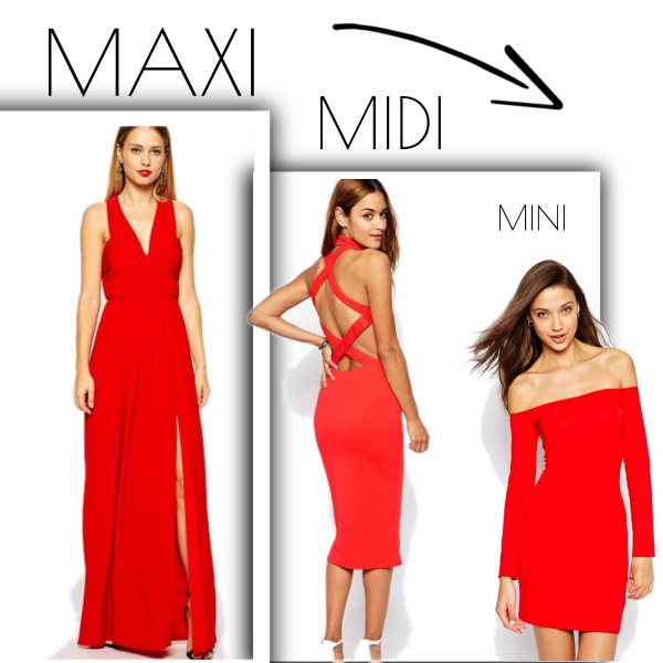 Maxi Midi Mini