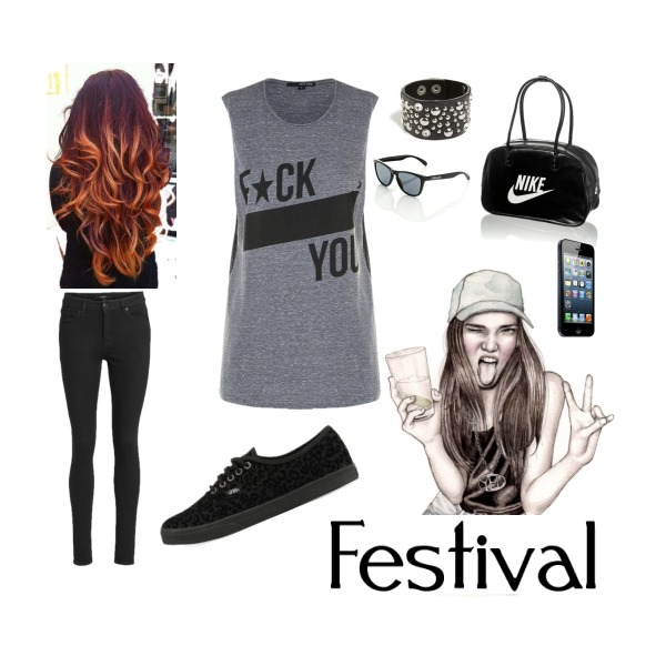 Keep calm and go at festival