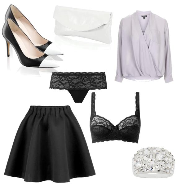 Klasika v barvách bílá a černá