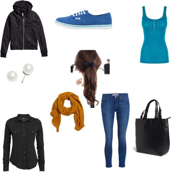 Dnešní outfit do školy :)))