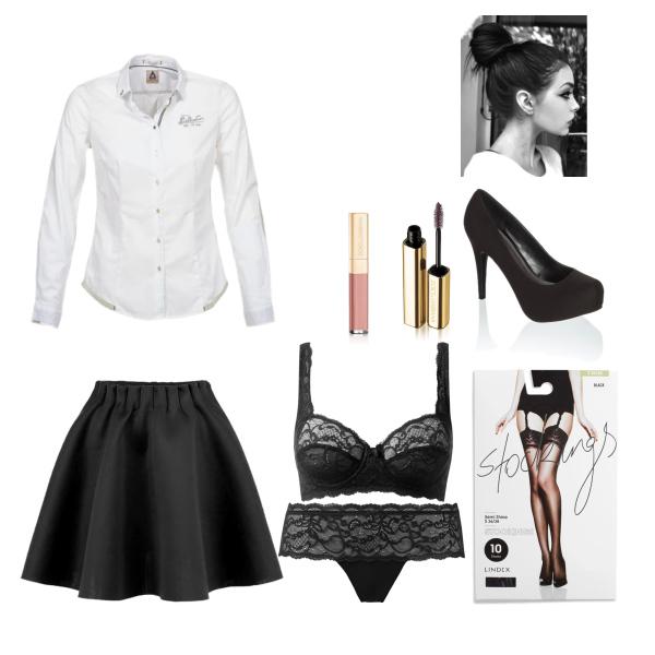odvážný jednoduchý outfit :)