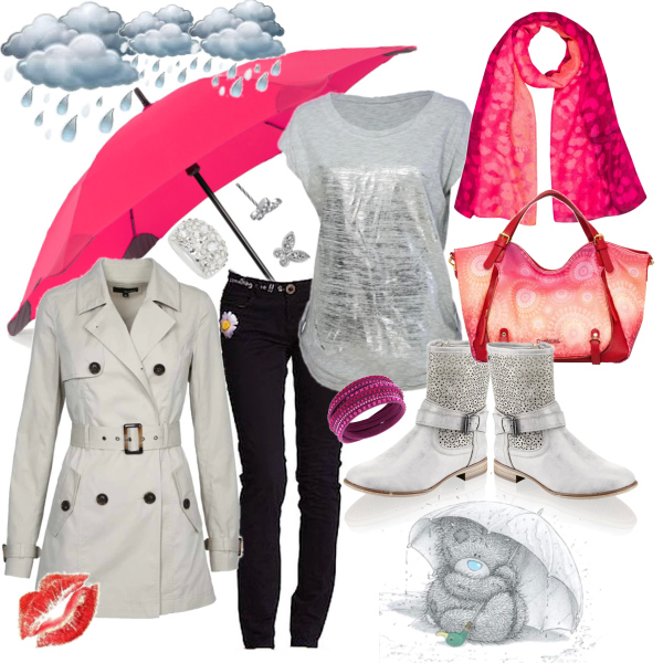 BE READY FOR SPRING RAIN...