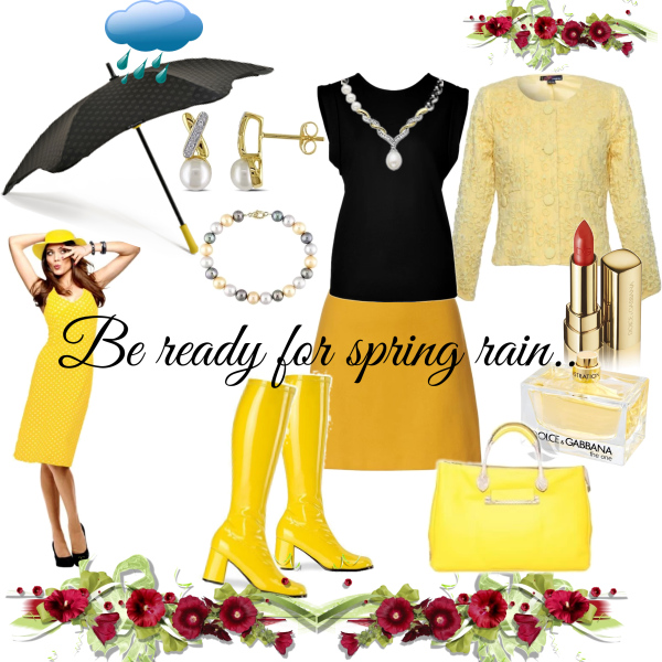 Be ready for spring rain!
