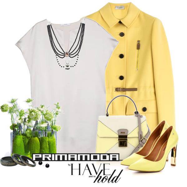 yellow and white
