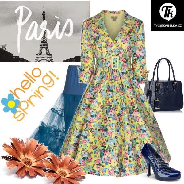 jarní procházka Paříží