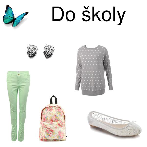 Oblečení do školy